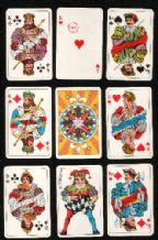 Collectible Swedish playing cards Horizont by Obergs
